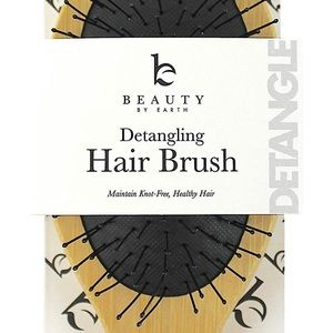 Detangle Wooden Hair Brush Brand New Natural